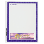 Removable Memo Board Sticker - To Do - Trellis