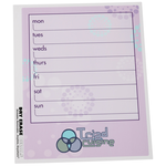 Removable Memo Board Sticker - Weekly - Burst