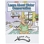 Learn About Water Conservation Coloring Book