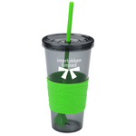Smoky Revolution Tumbler with Straw - 24 oz.