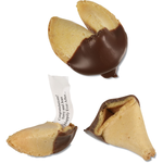 Chocolate Dipped Fortune Cookies