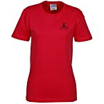 Soft Spun Cotton T-Shirt - Ladies' - Colors