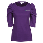 Naomi 3/4 Sleeve Interlock Tunic