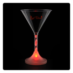Martini Glass with Light-Up Spiral Stem - 6 oz.