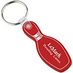 Bowling Pin Soft Keychain - Translucent