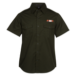 Two-Pocket-Stain Resistant SS Shirt - Men's