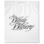 "Take Home Bag - 18"" x 15"" - White"