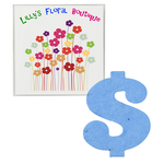 Plant-A-Shape Flower Seed Packet - Dollar Sign