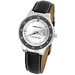 Prague Leather Watch - Men's