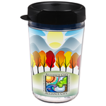 Full Color Smooth Move Insulated Travel Tumbler - 16 oz.