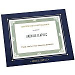 Wrapped Edge Certificate Frame - 8