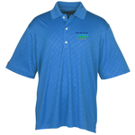 Greg Norman Play Dry Diamond Embossed Polo