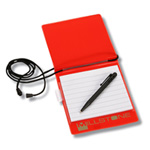 All-in-One Badge Holder Notepad