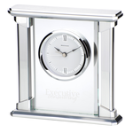 Allure Glass Clock