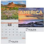 Landscapes of America Calendar (English) - Spiral - 24 hr