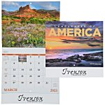 Landscapes of America Calendar (English) - Stapled - 24 hr
