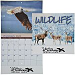 Wildlife Calendar - Stapled - 24 hr