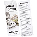 Just the Facts Bookmark - Senior Scams