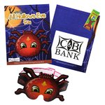 Coloring Book with Mask & Crayons - All Hallows Eve Fun
