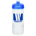 PolySure Out of the Block Water Bottle - 16 oz. - Clear
