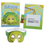 Coloring Book with Mask & Crayons - Bullying is Bad