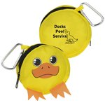 Paws and Claws Zippered Pouch - Duck