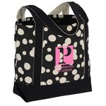 Designer Accent Gusseted Tote Bag - Bubble Explosion - 24 hr