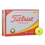 Titleist DT TruSoft Yellow Golf Ball - Dozen - Quick Ship