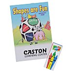 Color & Learn Activity Fun Pack - Shapes