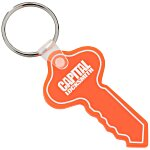 Round Head Key Soft Keychain - Translucent