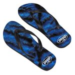 Adult Flip Flops - Small - Full Color
