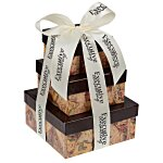 Chocolate Collection Tower - Antique Map