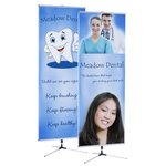 Trio Banner Stand - Double Side Graphics