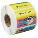 Super Kid Sticker Roll - Dollars and Cents