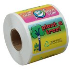 Super Kid Sticker Roll - Go Green