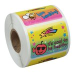 Super Kid Sticker Roll - Healthy Habits