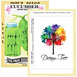 Antique Series Seed Packet - Cucumber
