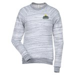Canvas Marbled Sponge Fleece Crewneck - Emb