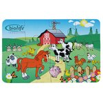 12 Piece Animal Puzzle - Farm