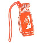 Golf Bag Tag - Translucent