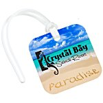 Square POLYspectrum Bag Tag - Opaque