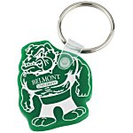 Bulldog Soft Keychain - Opaque