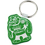 Bulldog Soft Keychain - Translucent