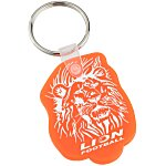 Lion Soft Key Tag - Translucent