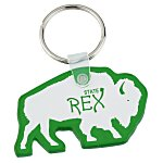 Bison Soft Key Tag - Translucent