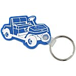 Golf Cart Soft Key Tag - Opaque
