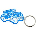 Golf Cart Soft Keychain - Translucent
