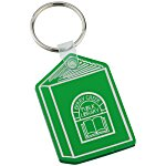 Book Soft Key Tag - Translucent
