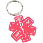 Medical Symbol Soft Keychain - Translucent