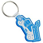 Dump Truck Soft Key Tag - Translucent